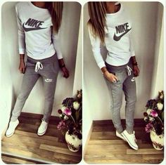 Comfy Nike outfit.