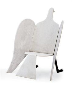 Francois-Xavier Lalanne  Fauteuil 'Oiseau De Marbre', Grand Modele, 1974  My perfect paloma!