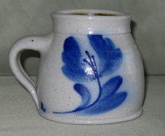 Salmon Falls 1992 14 oz. Blue Pennsylvania Cider Mug in Mint Unused Condition