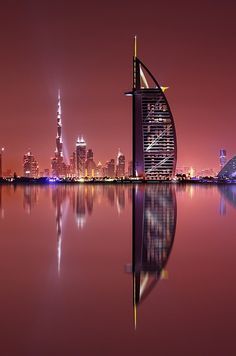 """Dubai""""Galaxy Reflections by Marek Kijevský on 500px""""   - Explore the World with Travel Nerd Nici, one Country at a Time. http://TravelNerdNici.com"""