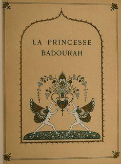 Edmund Dulac - Princess Badoura from the Arabian Nights Edmund Dulac, Arabian Nights, Cursed Child Book, Golden Age, English Language, Harry Potter, Stamp, Illustration, Artist