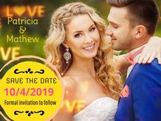 A great way to get your guests talk about the impending wedding, weeks before! Order Business Cards, Hair Creations, Save The Date Magnets, Event Venues, Couple Photos, Wedding, Couple Shots, Valentines Day Weddings, Couple Photography