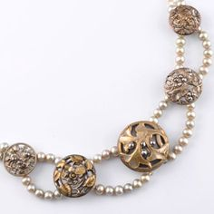 antique victorian button jewelry - see website
