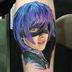 #Kickass Portrait Tattoo by David Corden