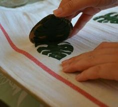 Philodendron stamp