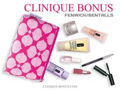 Clinique gift at Bentalls and Fenwick - Fall 2017. http://clinique-bonus.com/united-kingdom/