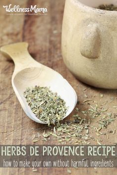 This homemade herbs de provence recipe combines herbs like thyme, savory, and marjoram with more unusual herbs like savory and lavender.