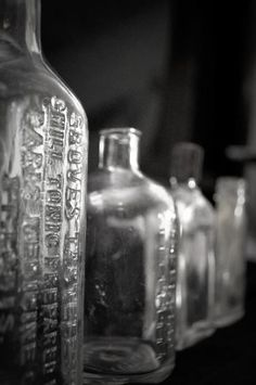 Glass bottles photo from Samantha Smith