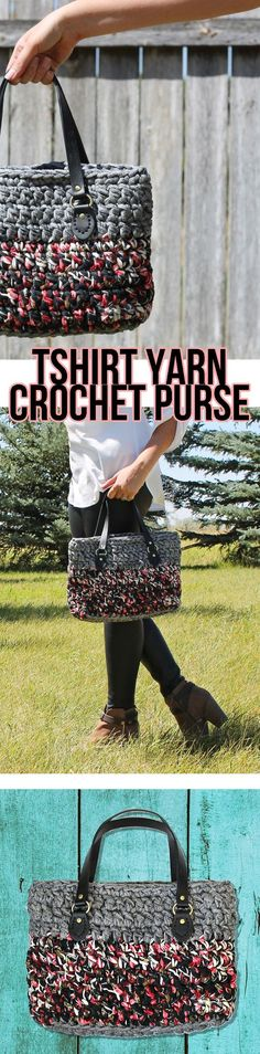 Melissa's Crochet Designs: cute handmade bag