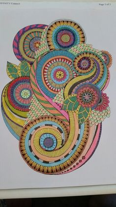 finished on 9 11 colorama coloring book gel pens and fine tip rh pinterest dk Colorama Coloring Book Flowers Colorama Coloring Book Ideas