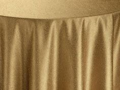 Gold Cotier Table Linen