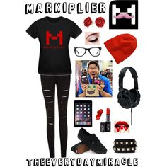Markiplier by theeverydaymiracle on Polyvore