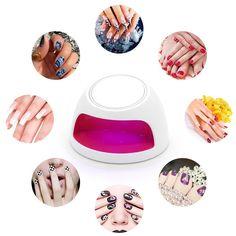 Amazon Portable Mini UV Nail Fan Dryer