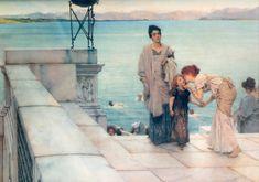 A Kiss - Sir Lawrence Alma-Tadema