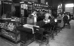 The Corner Cafe in Paragould, AR; circa 1914
