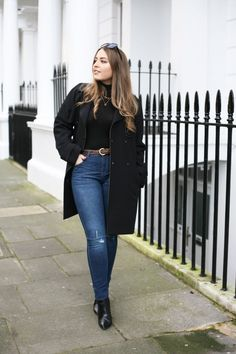 What To Wear With High Waisted Jeans #DorothyPerkins