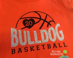 Show your BASKETBALL pride in this sparkly tee shirt! This LAT - Ladies Fine Jersey T-Shirt has a relaxed fit thats perfect for cheering on your little ball player. Your choice of mascot and number. Shown on Orange with Silver & Black glitter.  Choose from a Regular Adult Unisex tee or Ladies Fitted tee -- SIZES -- S, M, L, XL, 2XL, 3XL (see photo section for sizing chart)  SHIRT COLORS -- white, black, apple green, aqua, brown, vintage burgundy, caribbean blue, charcoal gray, vintage smoke…
