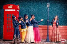 Lucky girls Kirti and her gang won the fabulous 'Hug, Pout, Click' Bridesmaids Photoshoot by ZoWed & our partners - check out their fabulous pics! Bridesmaid Poses, Bridesmaids, Lucky Girl, Say Hi, Weddingideas, Besties, Swag, Wedding Photography, Photoshoot