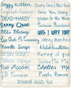 More fonts to lust for! But you can find them on Dafont.com for free. Lucky you!  #digital #scrapbooking