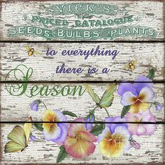 Beautiful Country Garden Sign on rustic white boards, created by Jean Plout. Artist Canvas, Canvas Art, Scrap, Annual Flowers, Garden Signs, Planting Bulbs, Colorful Flowers, Vintage World Maps, Decorative Boxes