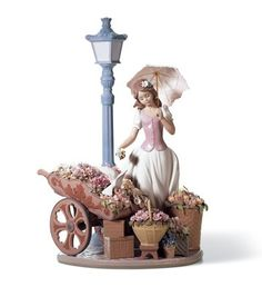 Lladro 06809 Flowers for everyone http://lladro.stores.yahoo.net/06flowforev.html