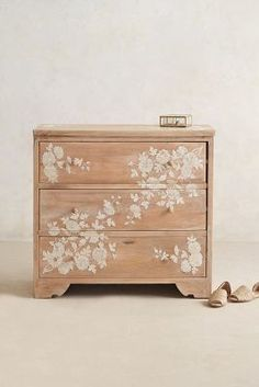 Anthropologie Pearl Inlay Dresser #anthrofave