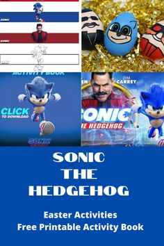 Join us as we share with you all the Sonic The Hedgehog Easter Egg fun you love and a free printable activity book! Kick family movie night off right. Family Movie Night, Family Movies, Easter Activities, Book Activities, Sonic The Movie, Making Easter Eggs, Sweet 16 Themes, Egg Wrap, Hollywood Theme