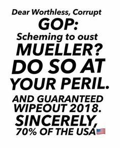 Mueller is a lifelong Republican. He's not scheming. He's doing the job he was hired to do...get to the truth, regardless of whether you agree or like the findings.