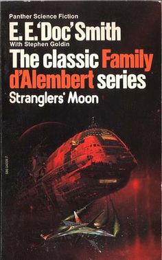 sci fi book cover art | Stranglers Moon Peter Andrew Jones Panther Books