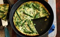 Slimming World's asparagus frittata and wedges recipe - goodtoknow