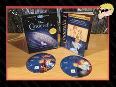 #Disney's #Cinderella  #CollectorsEdition #Digibook #BluRay My Books, Cinderella, Cover, Disney, Disney Art