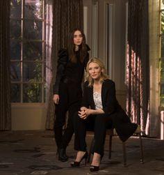 Carol Photoshoot with Cate Blanchett and Rooney Mara