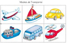 Transport and Travel Icons by Alex Serada, via Behance Numbers Preschool, Preschool Crafts, Transportation Activities, Art Activities For Toddlers, Montessori Toddler, Community Helpers, Tree Crafts, English Lessons, Kids Education