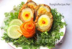 ভেজিটেবল স্কচ এগ - vegetable scotch egg recipe