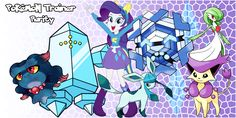 Pokemon Trainer Rarity by LightDegel.deviantart.com on @DeviantArt