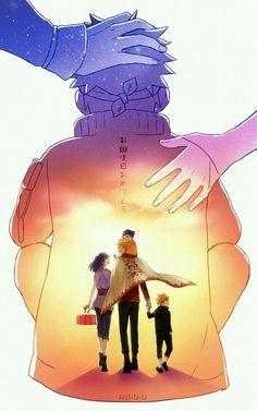 #Naruto Uzumaki family