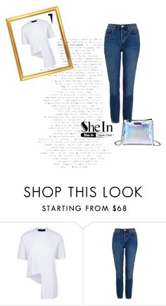 """""""shein contest"""" by zojla ❤ liked on Polyvore featuring Topshop"""