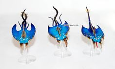 Blue screamers of tzeentch.  Check out https://www.facebook.com/Inoneko-model-painting-247182882290975 for more!