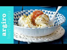 Σπιτικό παγωτό με 3 υλικά • Keep Cooking by Argiro Barbarigou - YouTube Ice Cream Recipes, Greek Recipes, New Recipes, Cake Recipes, Dessert Recipes, Desserts, Ice Cream Treats, Make Ice Cream, Homemade Ice Cream