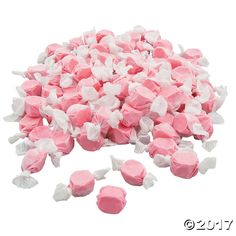 This pack of Pink Salt Water Taffy is a sweet, chewy treat for any occasion! Perfect for valentine candy buffets and wedding receptions, or toss into birthday ...