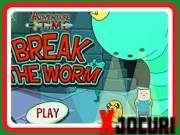 Adventure Time Break The Worm Free Fun, Worms, Free Games, Adventure Time, Play, Games, Finn The Human