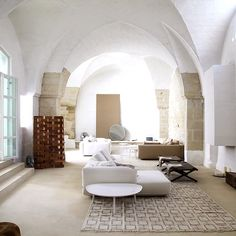 Renovation of an ex oil mill   projected by ludovica & Roberto Palomba