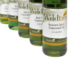 Wildtree Grapeseed Oil Bottle Amazing flavors to excite your taste buds AND is good for you!