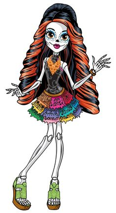 Monster High Characters | Skelita Calaveras - Monster High Wiki