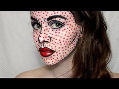 ▶ POP ART Tutorial | Roy Lichtenstein - YouTube