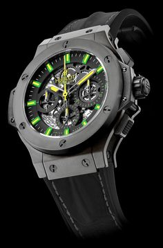 HUBLOT BIG BANG OSCAR NIEMEYER by Hublot in news on Presentwatch