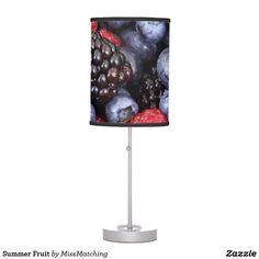 Summer Fruit Table Lamp