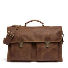 Old School Bag Tribe Leather | School Bags | Roots