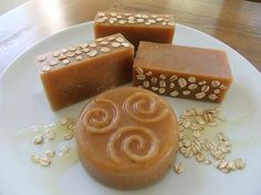 Honey, Oats and Beeswax Soap