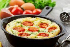 Omelete de forno com apenas 78 calorias e ZERO fritura